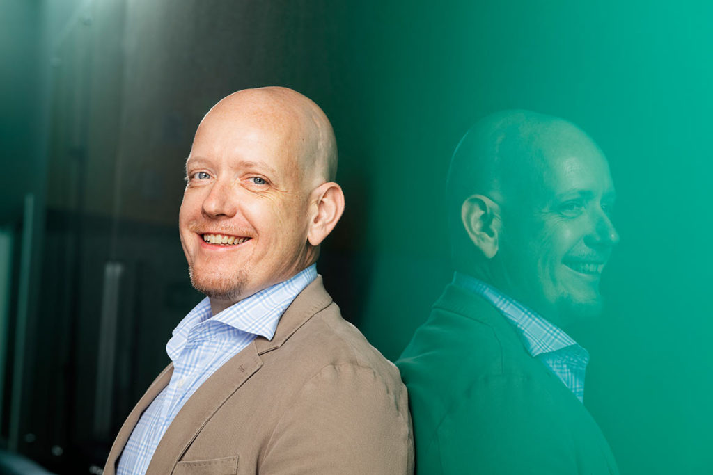 Jan-Henrik Svensson was appointed new CEO of Beamex in 2015. At that time he had already worked for the company for nine years.