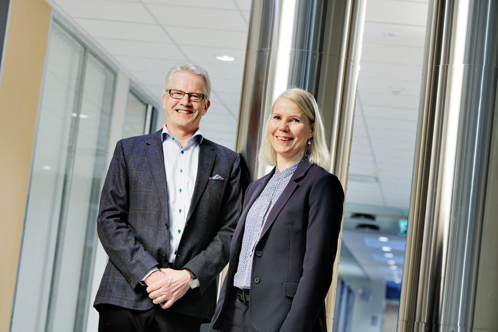 """What set us apart are our long-term customer relationships. We have a reputation as an extremely reliable partner,"" Jarmo Herronen and Tarja Halonen explain."