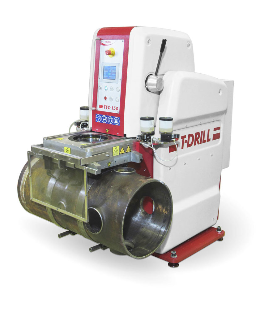 T-Drill is a subsidiary of the Leinolat Group and a market leader in manufacturing pipe fabrication machines.