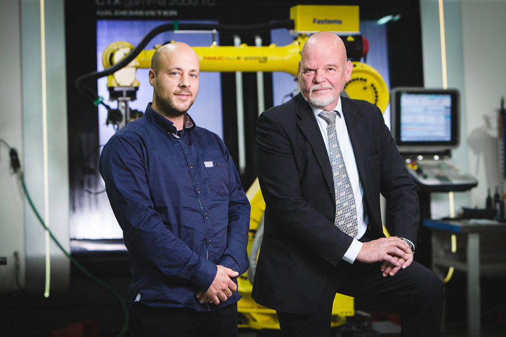 Kim Backman and Kaj-Erik Loo say that developing automation is one way to increase growth.