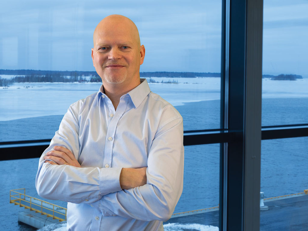 """We continuously try to make technological improvements at the same time as we are reducing weight,"" Kenneth Nyfelt says about the new high-tech solutions Baltic Yachts will be launching."