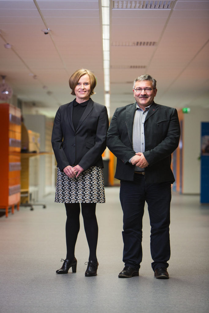 """VAMK's training programmes are designed and also partly implemented in close cooperation with the region's companies,"" Elina Martin and Jorma Tuominen explain."